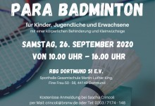 Para-Badminton Workshop 2020 mit RBG Dortmund 51